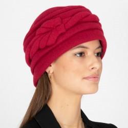 Vintage Wool Hat Red -...