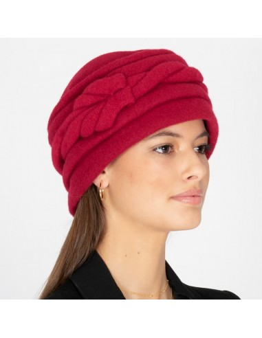 Vintage Wool Hat Red - Style Alessia