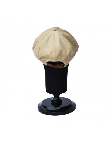 Peaky Blinder Cap - Beige Corduroy Cap