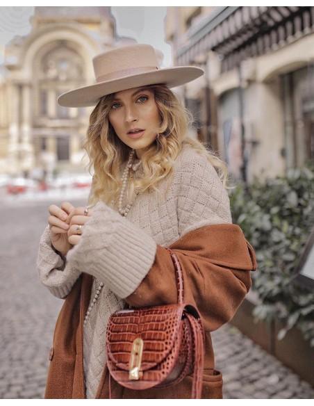 Sombrero Invierno de Fieltro de Lana