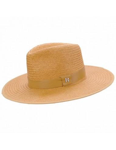 Sombrero Paja Florida Natural - Sombreros Verano
