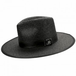 Sombrero Florida  Negro para hombre - Sombreros Verano -sombrero borsalino hombre