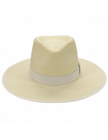 Straw Hat Florida White - Fedora Style