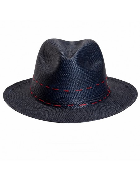 Panama Hat Cuenca Navy - Panama Hats for Men