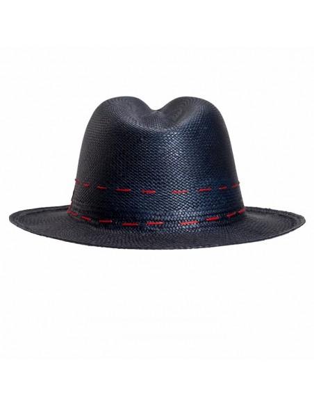 Panamá hombre - sombrero Cuenca azul marino