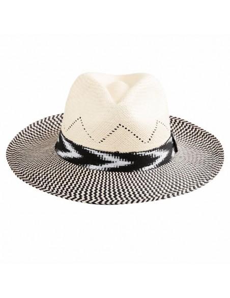 Sombrero Panamá Hombre Twist Blanco - Sombreros Fedora