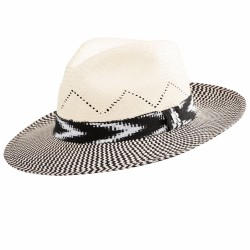 Panama Hat Twist White for men