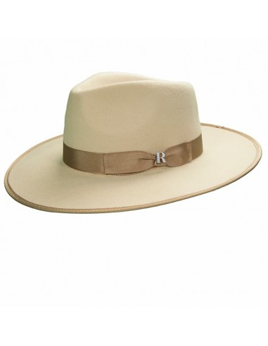 Beige Nuba Hat for Men - Felt Hat Fedora for Men