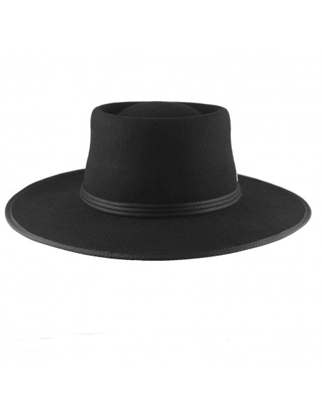 Black Billy Hat for Men - Cowboy Style