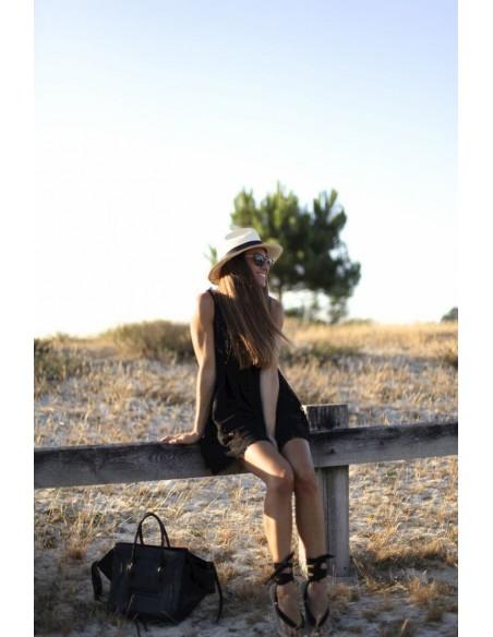 sombrero Panamá natural de mujer