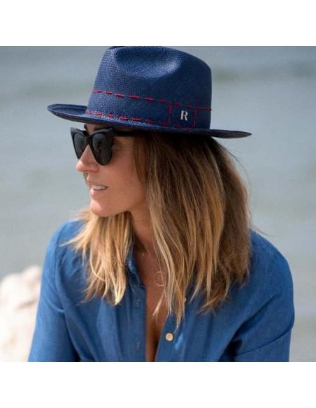 panama navy hat
