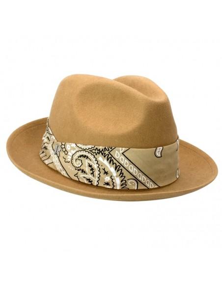 Sombrero Ala Corta para Hombre - Color Beige
