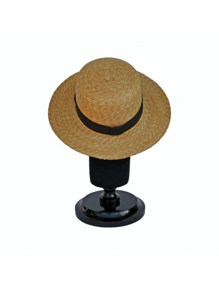 Sombrero Canotier Miramar en Paja Natural