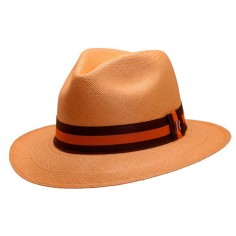 Sombrero Panamá Hombre Camel - Estilo Fedora