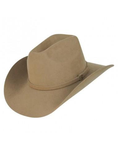 Sombrero Estilo Cowboy en 100% Fieltro de Lana