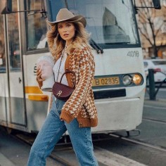 Sombrero Cowboy en 100% Fieltro de Lana