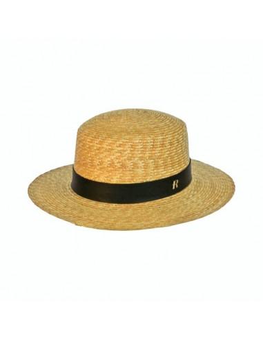 Canotier Miramar Hat Natural Straw
