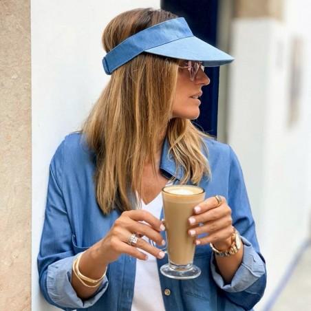 Viseras Mujer - Color Azul - Gorra Visera Mujer