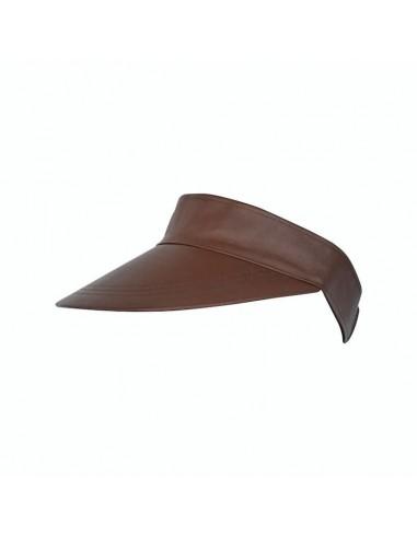 Visor Shady Leather Brown