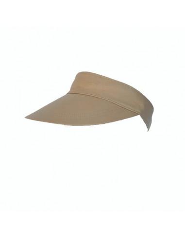 Visor Shady Leather Beige