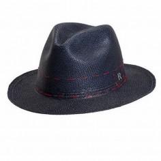 Sombrero Panamá Cuenca Azul Marino
