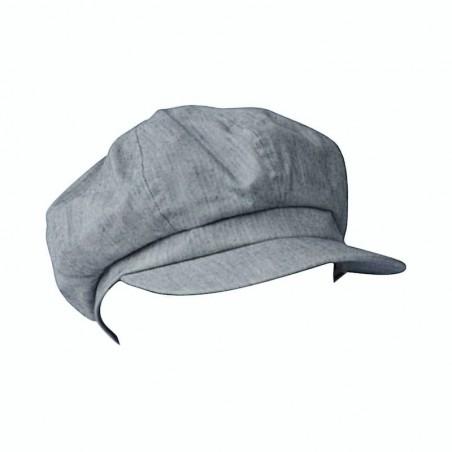 Peaky Blinder Cap - Light Blue Jeans Cap