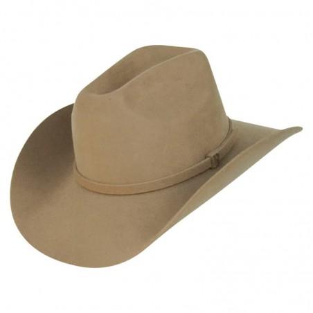 Sombrero Estilo Cowboy en 100% Fieltro de Lana Hombre