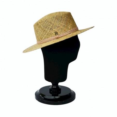 Sombrero Canotier Hombre Algas Marinas  - Sombreros de Hombre - Made in Spain