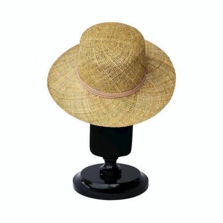 Sombrero Canotier Hombre Algas Marinas  - Sombreros de Hombre - Fabricado en España
