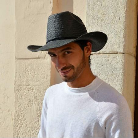 Sombrero Cowboy Hombre Dakota en color Negro