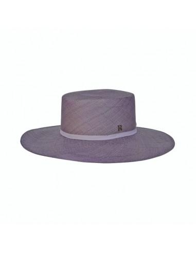 Canotier Panama Hat Provence Lavender