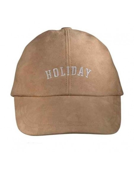 Holiday Beige Cap by Raceu Atelier Men