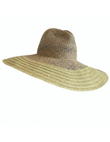 Queen Area Big Hat Straw Hat Visor Hat Beach Hat Black and White Color Matching Big Hat