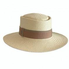Sombrero Acapulco Paja de Papel Beige