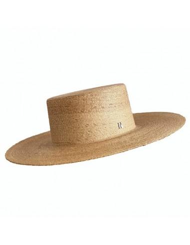 Sombrero Canotier Ala Ancha Puebla