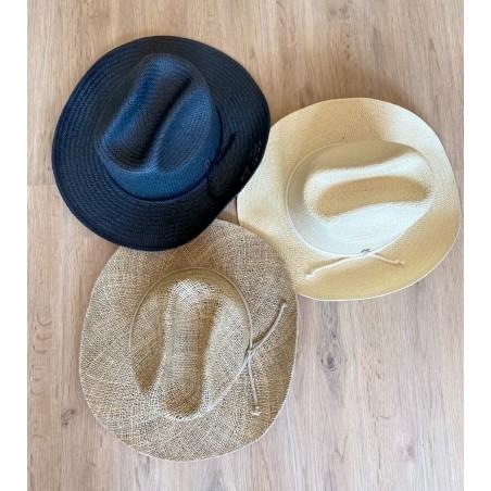 Sombrero Cowboy Dakota Negro - Sombreros de Mujer