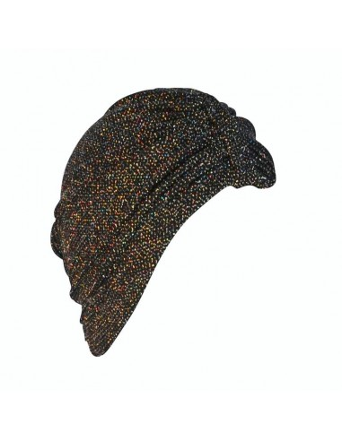 Turban April Multicolor Sparkle on Black