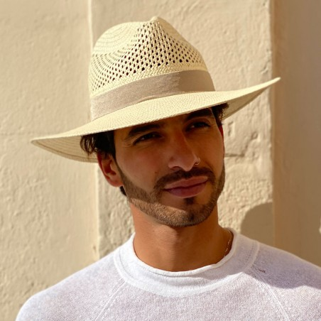 Fedora Hat Recycled Paper Straw for Men - Orlando