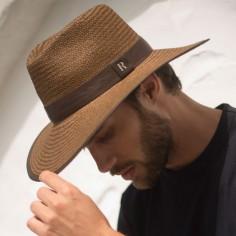 Sombrero hombre Florida Marrón - Sombreros Verano - Estilo Fedora
