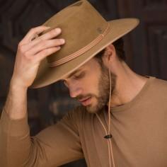 BILLY CAMEL HAT. COWBOY HAT FOR MEN