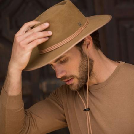 Sombrero Fieltro de Lana Billy Estilo Cowboy para hombre