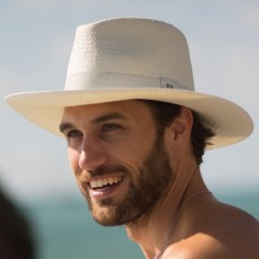 Summer hat for men Florida White - Fedora hat for men