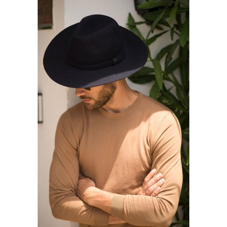 Fedora Hat por Men - Fedora Wool Felt