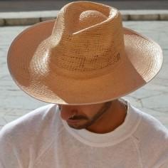 Sombrero Panama Hombre Ala Ancha