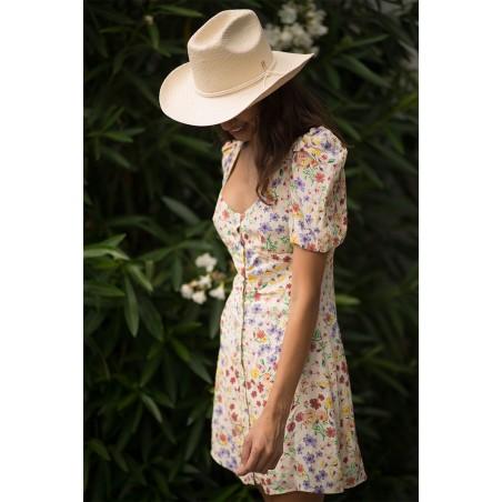 Cowboy Hat Dakota Beige - Sombrero de Paja Estilo Cowboy