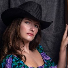 Cowboy Hat Dakota Black - Women's Hats