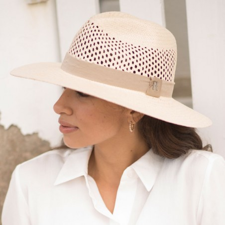 Fedora Hat Recycled Paper Straw - Womens Summer Hats
