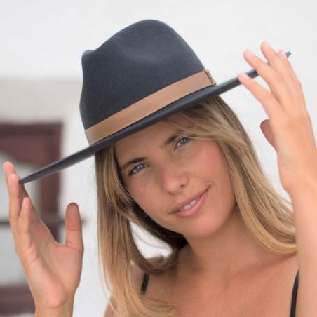 Sombrero Fieltro de Lana Estilo Fedora
