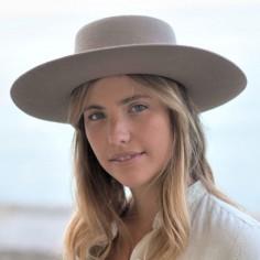 Sombrero de Fieltro Mujer Ranch - Raceu Hats - Sombreros de Fieltro Ala Rígida