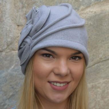 Wool Hat Sarah Light Grey